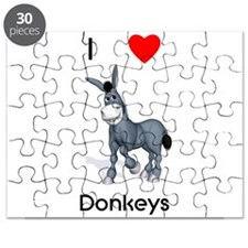 I love donkeys Puzzle