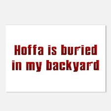 Hoffa is buried... Postcards (Package of 8)
