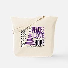 Christmas 1 Lupus Tote Bag