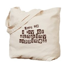 A Ray of Sunshiny Happiness Tote Bag