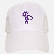 Peace,Love,Hope Baseball Baseball Cap