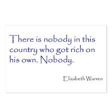 Warren Quote Postcards (Package of 8)