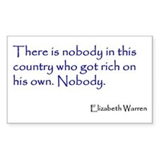 Warren Quote Decal