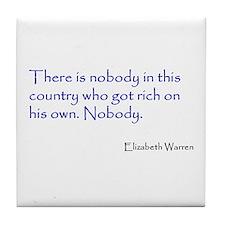 Warren Quote Tile Coaster