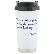 Warren Quote Travel Mug