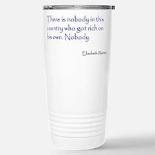 Warren Quote Travel Mug