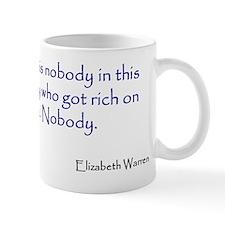 Warren Quote Small Mug