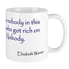 Warren Quote Small Mug