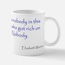 Warren Quote Small Small Mug