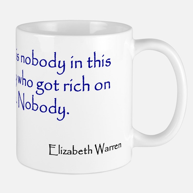 Warren Quote Small Small Mug