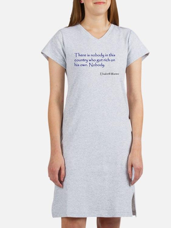 Warren Quote Women's Nightshirt