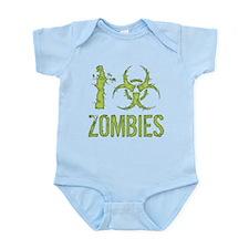 I Biohazard Zombies Infant Bodysuit