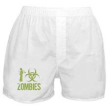I Biohazard Zombies Boxer Shorts