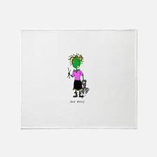 Custom Julie Biddy Throw Blanket