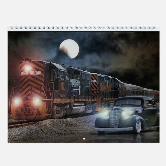 Hot Rod Wall Calendar 2