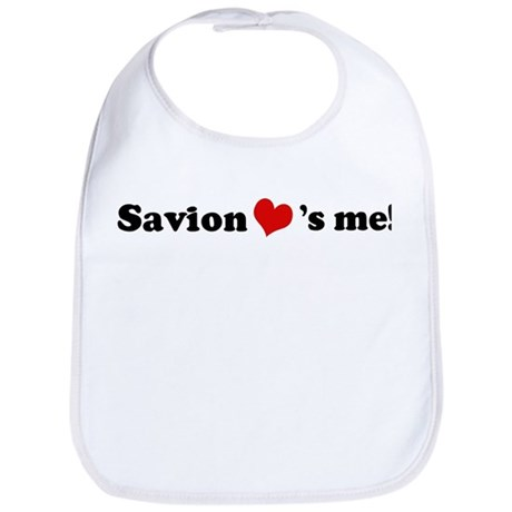 Savion loves me Bib