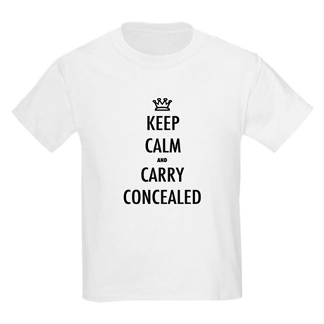 Carry Concealed Kids Light T-Shirt