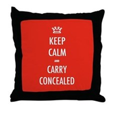 Carry Concealed Throw Pillow
