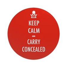 Carry Concealed Ornament (Round)