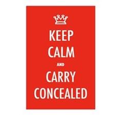 Carry Concealed Postcards (Package of 8)