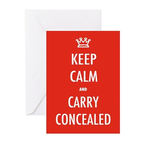 Carry Concealed Greeting Cards (Pk of 10)