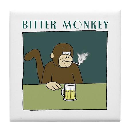 Bitter Monkey Tile Beer Coaster