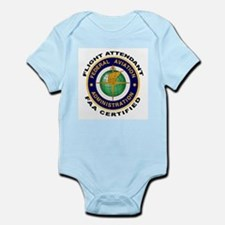 Flight Attendant Infant Bodysuit