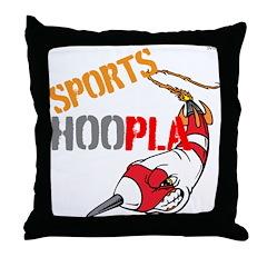 OYOOS Sports Hoopla design Throw Pillow