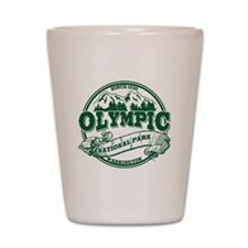 Olympic Old Circle Shot Glass