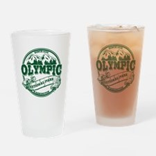 Olympic Old Circle Drinking Glass