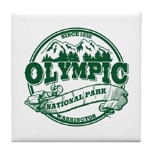 Olympic Old Circle Tile Coaster