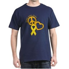 Peace, Love, Cure T-Shirt