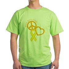 Peace, Love, Cure T-Shirt