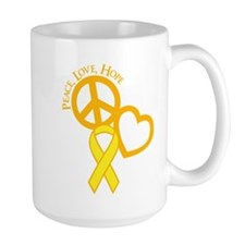 Peace,Love,Hope Mug
