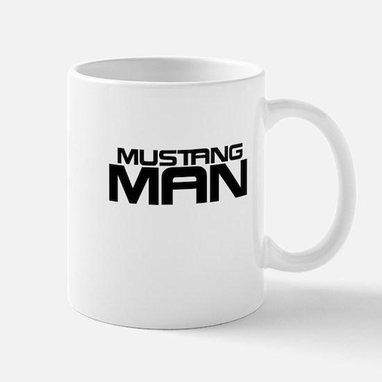 New Mustang Man Mug
