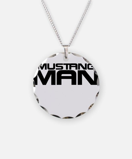 New Mustang Man Necklace