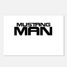 New Mustang Man Postcards (Package of 8)