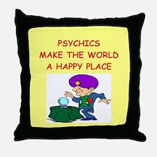 psychics Throw Pillow
