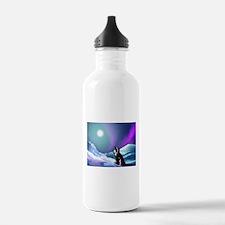 Contemplative Penguin Water Bottle