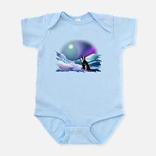 Contemplative Penguin Infant Bodysuit