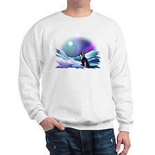 Contemplative Penguin Sweatshirt