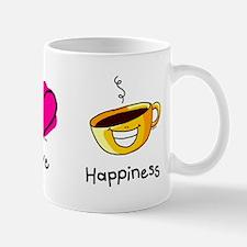 Peace Love and Coffee Mug