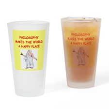 philosophy Drinking Glass