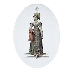 Jane Austen Ackermann 1 Ornament (Oval)