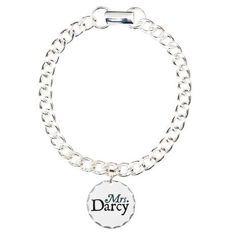 Jane Austen Mrs. Darcy Charm Bracelet, One Charm