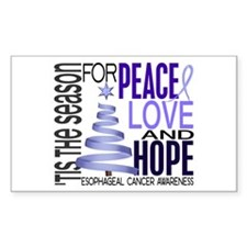 Christmas 1 Esophageal Cancer Decal