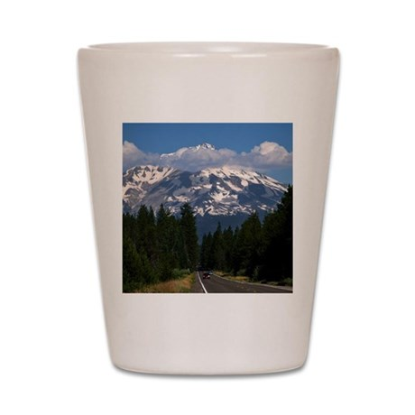 Shasta on the Road Again Shot Glass