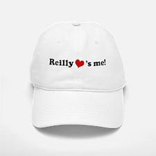 Reilly loves me Baseball Baseball Cap