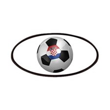 Croatian soccer ball Patches