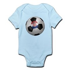 Croatian soccer ball Infant Bodysuit
